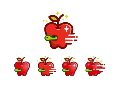 Apple creative icons flat icons food icons apple icon apple icons