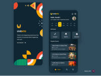 UVENTO App - (Event app Exploration)