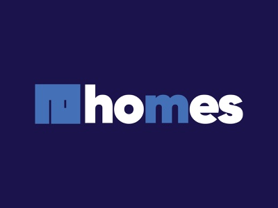 #Explorations logo design AHOMES icon mark home logos logo design branding logo
