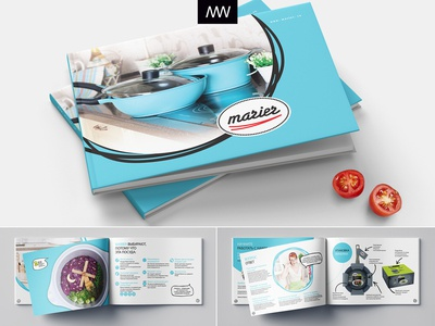 Booklet catalogue for Marier
