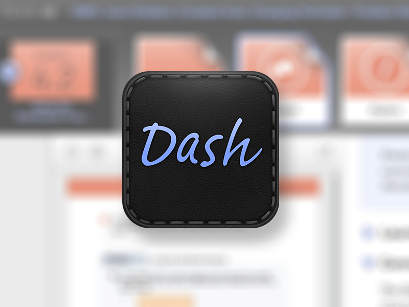 Dash logo mark education