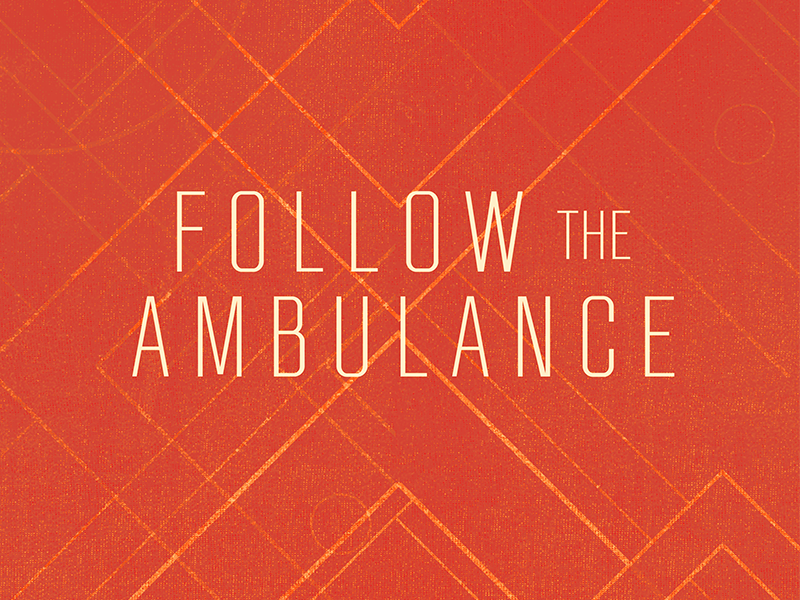 Follow the Ambulance music graphic design branding logo design