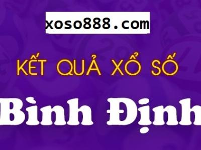 Xo so Binh Dinh - Truc tiep KQ XSBDI luc 17h15 hom nay xoso888com