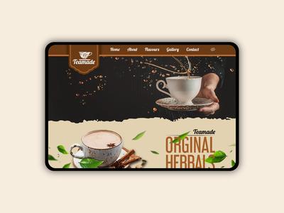 Tea Store_Website design
