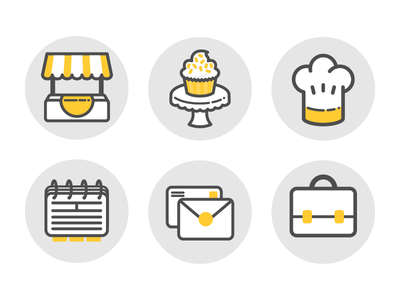 (Old) Bakery Icons