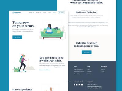 Honest Dollar Website