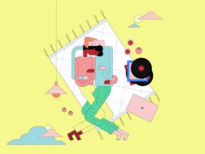 Couples Illustration Kit | Scene 1