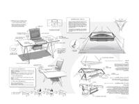 B/W Concept Sketches