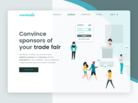 Eventbaxx exhibitions Landing Page