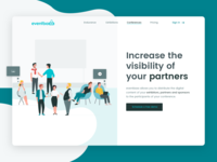 Eventbaxx conferences Landing Page