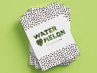 Watermelon handmade cover design