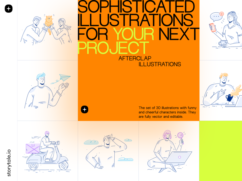 Afterclap Illustrations
