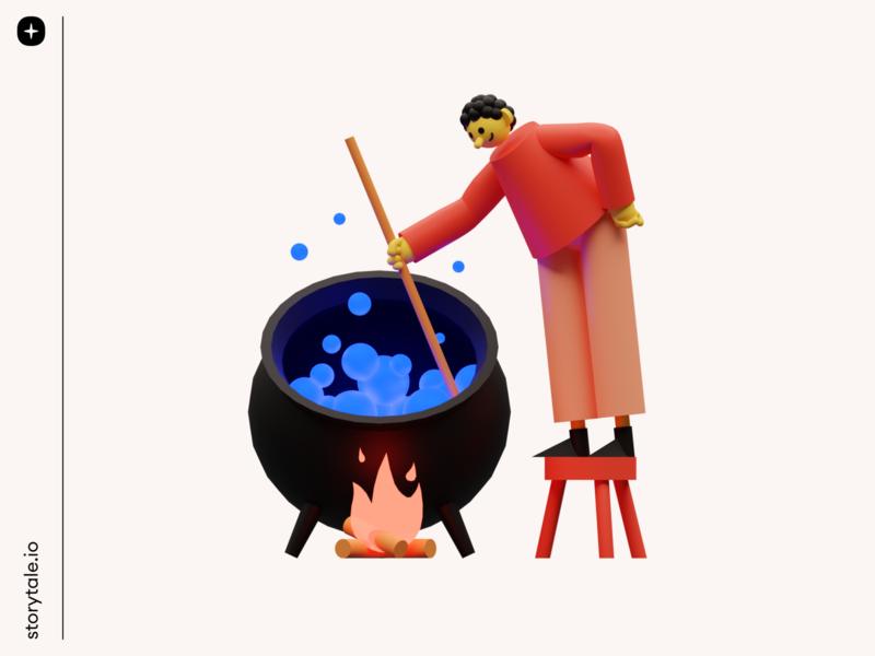 3D Illustrations Pack