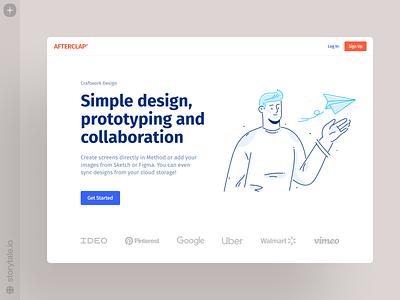 Afterclap Illustrations 🌟 storytale illustration design