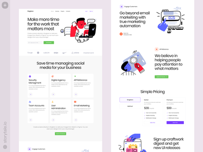 Nuts Illustrations 😍 nuts product web vector ui colorful storytale illustration design