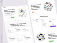 UX/UI Illustrations uxui web product vector ui colorful storytale illustration design