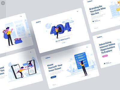 Stubborn Illustrations ✌️ technologies tech it scenes stubborn product web vector ui colorful storytale illustration design