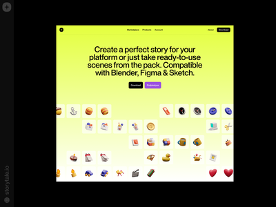 Superscene 3D Objects ❤️ objects icons superscene ux 3d product web ui colorful storytale illustration design