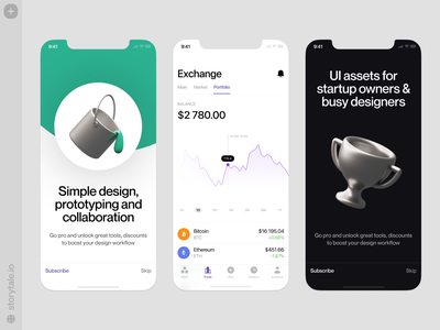 3D Things Collection 🏆 discounts sale icon objects things silver branding app design 3d product ui colorful storytale illustration design