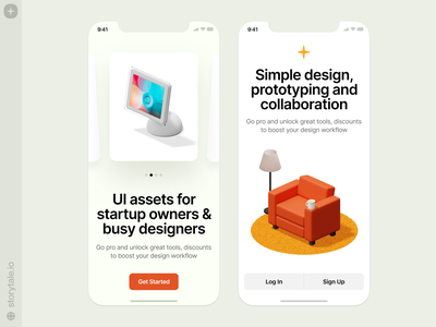 Isometrica illustrations 💥 objects icons isometrica 3d isometric ios mobile app design app ux branding logo product ui colorful storytale illustration design