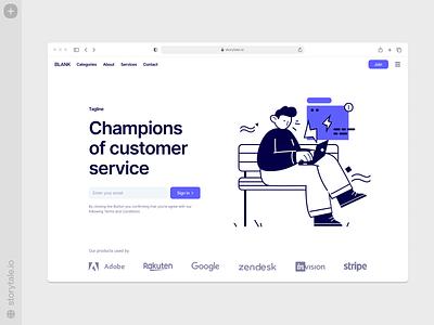 Control illustrations ⚡️ ux branding logo vector ui product colorful storytale illustration design
