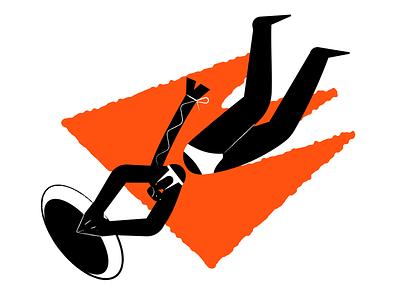 Blotter illustrations 💥 abstract dark blotter vector product ui colorful storytale illustration design