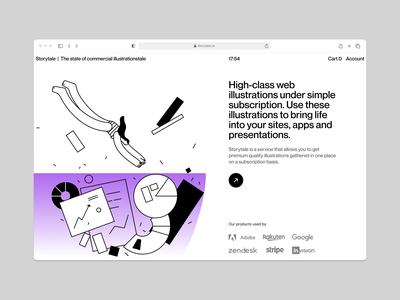 Oh My Startup illustrations ❤️ swimming startup vector product ui colorful storytale illustration design