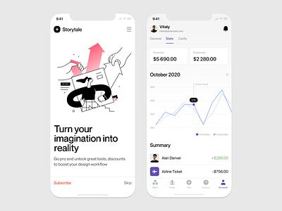 Oh My Startup illustrations 🚀 app design app gradients illustrations startup vector ui product colorful storytale illustration design