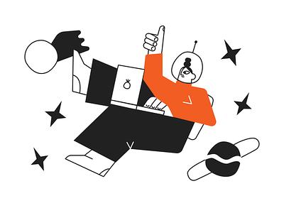 Back to school! college uni education winner school logo vector product colorful storytale illustration design