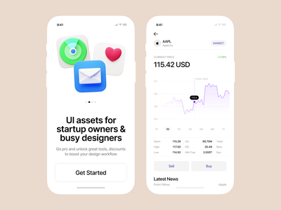 Caramel 💙 3D icons for iOS ios icons 3d caramel product ui colorful storytale illustration design