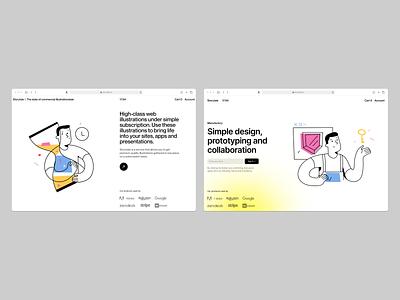 Do it illustrations 💪 presentation landing layout outline do it vector product ui colorful storytale illustration design