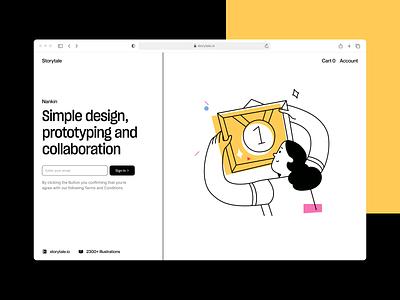 Do it illustrations 🏆 prize winner outline doit vector product ui colorful storytale illustration design