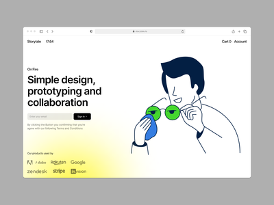 NEW: On Fire illustrations 🔥 company it team people man glasses acid release illustrations startup project fire new vector product ui colorful storytale illustration design