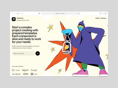 Canny illustrations 💥 light witch bright color halloween spooky сanny branding vector ui product colorful storytale illustration design