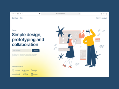 Humpy illustrations ⭐️ noisy grainy handdrawn humpy vector product ui colorful storytale illustration design
