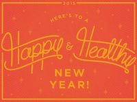 Happy New Year Dribbblers