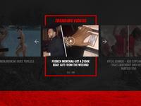 TMZ Video Slider Concept