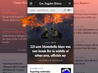 Adaptive Mobile Homepage