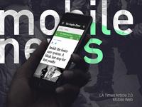 LA Times Article 2.0 Mobile Web