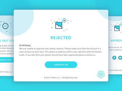 Email Templates for FitMix email template modern fun clean fitness illustration design