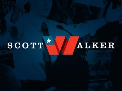 Scott Walker 2016 Logo (Concept)
