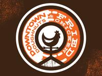 Downtown Doughnuts & Fried Chicken Logo