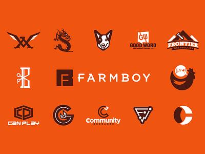 2016 Recap agency 2016 orange logos graphics design review