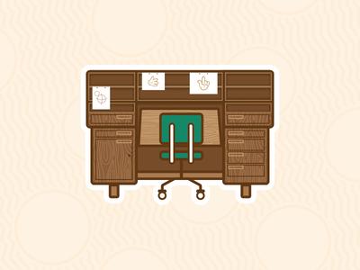 Walt's Desk