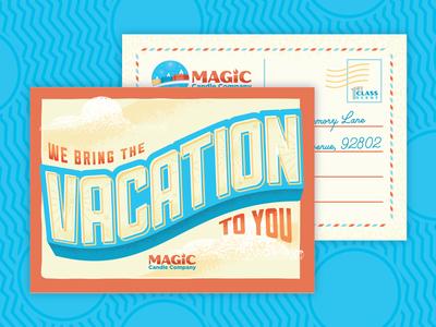 Magic Candle Co. Postcard