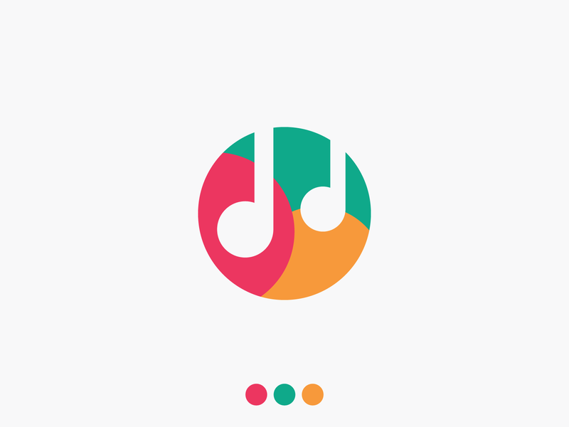 The Miracle of Notes trend 2020 music logo icon symbol logo concept note music logomark type mark logo designer brand design logo guide logo design logotype logo branding brand identity abstract colorful