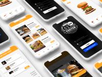 Burger mobile app