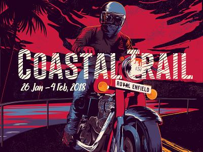 Motorcycle Illustration flat illustration design vector t shirt art motorcycle moto illustration graphicdesign