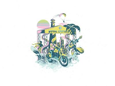 Rider Mania vector design t shirt art moto motorcycle illustration graphicdesign