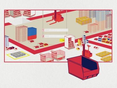 Un-dustry 1 industrial flat illustration vector illustration graphicdesign